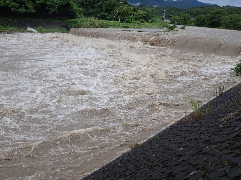 高知西南豪雨 三崎川
